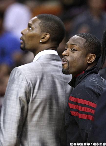 Wade:James你是真的很想拼MVP喔