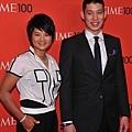 林書豪與曾雅妮一同出席百大影響人物頒獎典禮