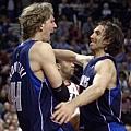 Nash與Dirk超級好朋友