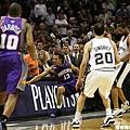 2006-07  第二輪 馬刺4:2太陽