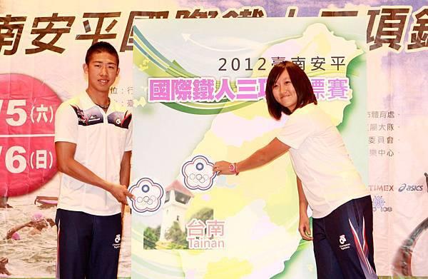 鐵人好手誓言於台南古都一較高下 爭取世界大學錦標賽中華隊資格