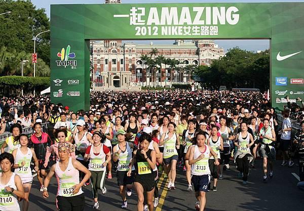 2012 NIKE女生路跑鼓勵更多的女生投入運動