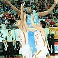 台北達欣洋將菲力斯本場比賽得到19分8籃板,但仍無法為達欣帶來勝利