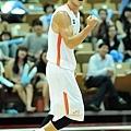 台灣隊長陳信安今日拿下19分,第四節挺身而出,單節豪取14分,助球隊逆轉獲勝