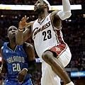 LeBron James --2009年 對魔術  小皇帝的魔法棒