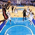 LeBron James --2011年 對小牛 首次冠軍賽大三元
