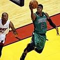 Rajon Rondo -- 2012年季後賽 -- 44分、8籃板、10助攻