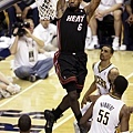 LeBron James -- 2012年季後賽 對溜馬 -- 40分、18籃板、9助攻