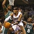 Allen Iverson -- 共 1 次單場罰球次數超過 20 次