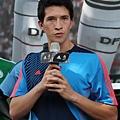 夏維耶去年七月首度為中華隊效力,在台掀起一陣足球旋風