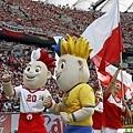 歐洲國家盃開幕典禮  吉祥物登場