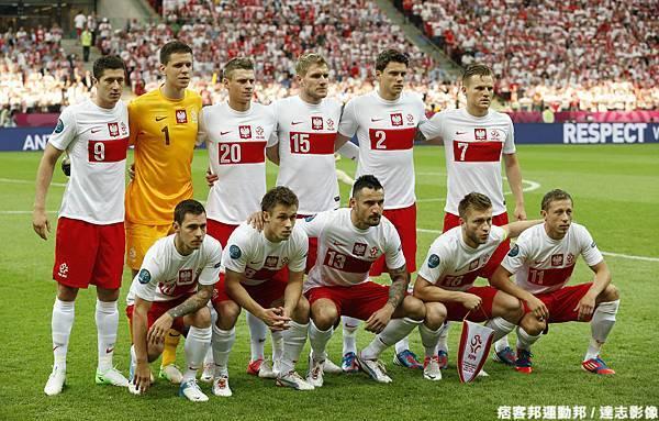 2012 年  歐洲國家盃開幕戰   波蘭 1:1 希臘