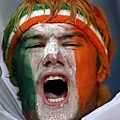 歐洲國家盃場邊熱情球迷