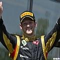 F1--加拿大站,Romain Grosjean 區居第二