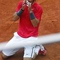 Nadal 擊敗 Djokovic  ,奪下生涯第七座法網冠軍