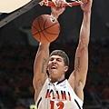 中鋒--3.Meyers Leonard--伊利諾大學(Illinois),大二(7呎1,250磅)