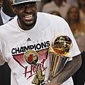 James 獲選為冠軍賽最有價值球員