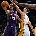Nash 與 Kobe 的對戰紀錄-- 2010 年