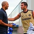 Mariano Rivera 和 Frank Lampard