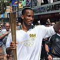 2012 倫敦奧運  足球明星 Didier Drogba 傳遞聖火