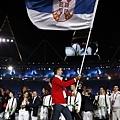塞爾維亞掌旗官 -- Novak Dokovic