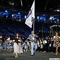 中華台北掌旗官 -- 陳士杰