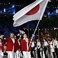 日本掌旗官 -- 吉田沙保里