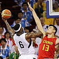 LeBron James vs 姚明
