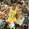 1996年Magic Johnson復出