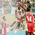 夢幻隊登場首戰:1992年美國隊116-48安哥拉
