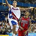 夢幻隊在奧運首次吞敗:2004年美國隊73-92波多黎各