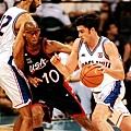 1996年奧運決賽,美國跟南斯拉夫正式碰頭