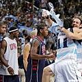阿根廷興奮闖進決賽