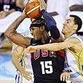 Carmelo Anthony 北京奧運對阿根廷
