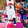 Kevin Durant 倫敦奧運對法國