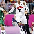 Carmelo Anthony 倫敦奧運對奈及利亞