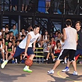 Nike球星張宗憲與林志傑擔任Nike Summer Nights球隊教練,並下場攻防對抗