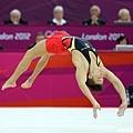 德國花美男 Marcel Nguyen 參加男子地板動作競賽