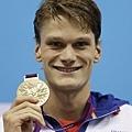 法國--游泳--Yannick Agnel -- 2 金 1 銀