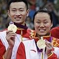 中國--羽球--趙芸蕾 (圖右)