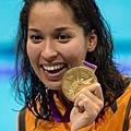 荷蘭--游泳--Ranomi Kromowidjojo -- 2 金 1 銀