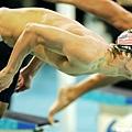 Phelps的下水動作非常流利