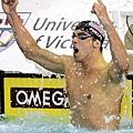 Phelps在擅長的200蝶刷新世界紀錄