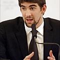 Phelps出面開記者會聲明