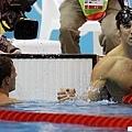 200公尺混合四式,Phelps擊敗Lochte奪金