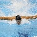 蝶式是Phelps的招牌