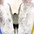 Phelps優秀的肺活量也是他的武器