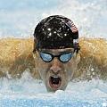 勇往直前的Phelps