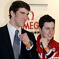 Phelps出席OMEGA宣傳活動