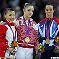 [女子體操] Aliya Mustafina 摘下高低槓金牌